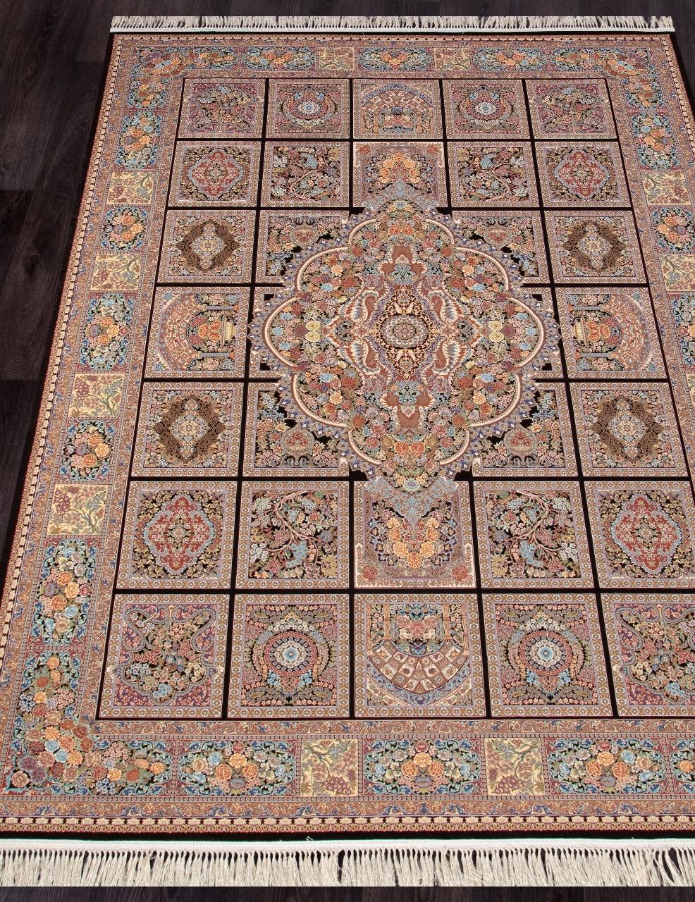 Ковер Kajal - BROWN - Прямоугольник - коллекция SHIRAZ - фото 1
