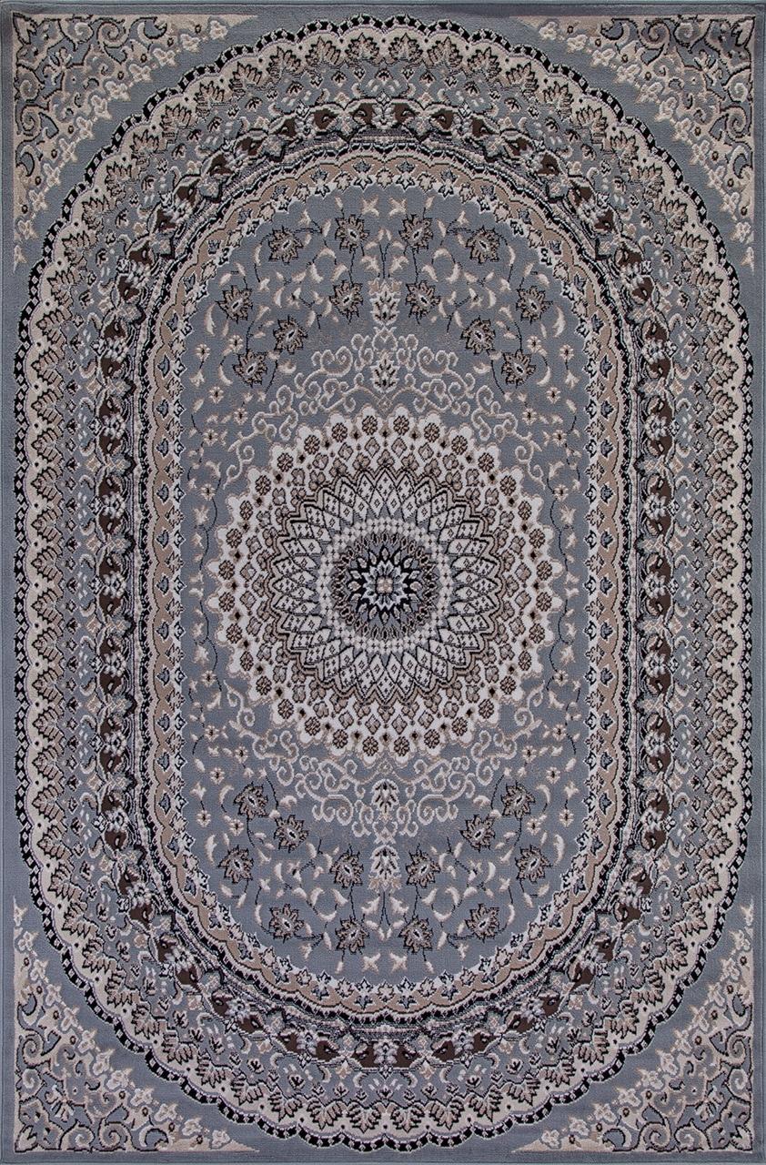 Ковер D504 - BLUE-BROWN - Прямоугольник - коллекция SIERRA - фото 2