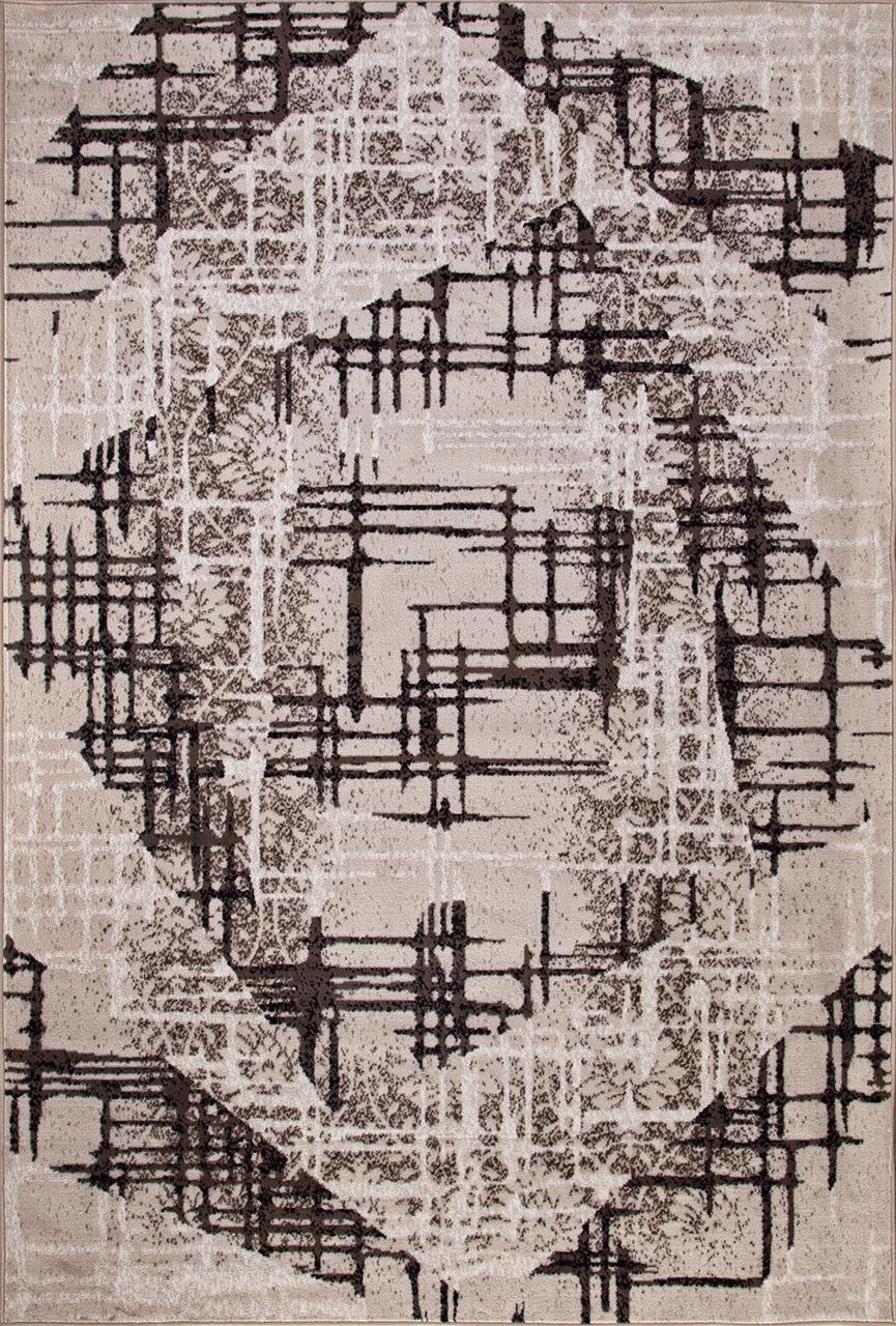 Ковер D708 - BEIGE-BROWN - Прямоугольник - коллекция SIERRA - фото 2