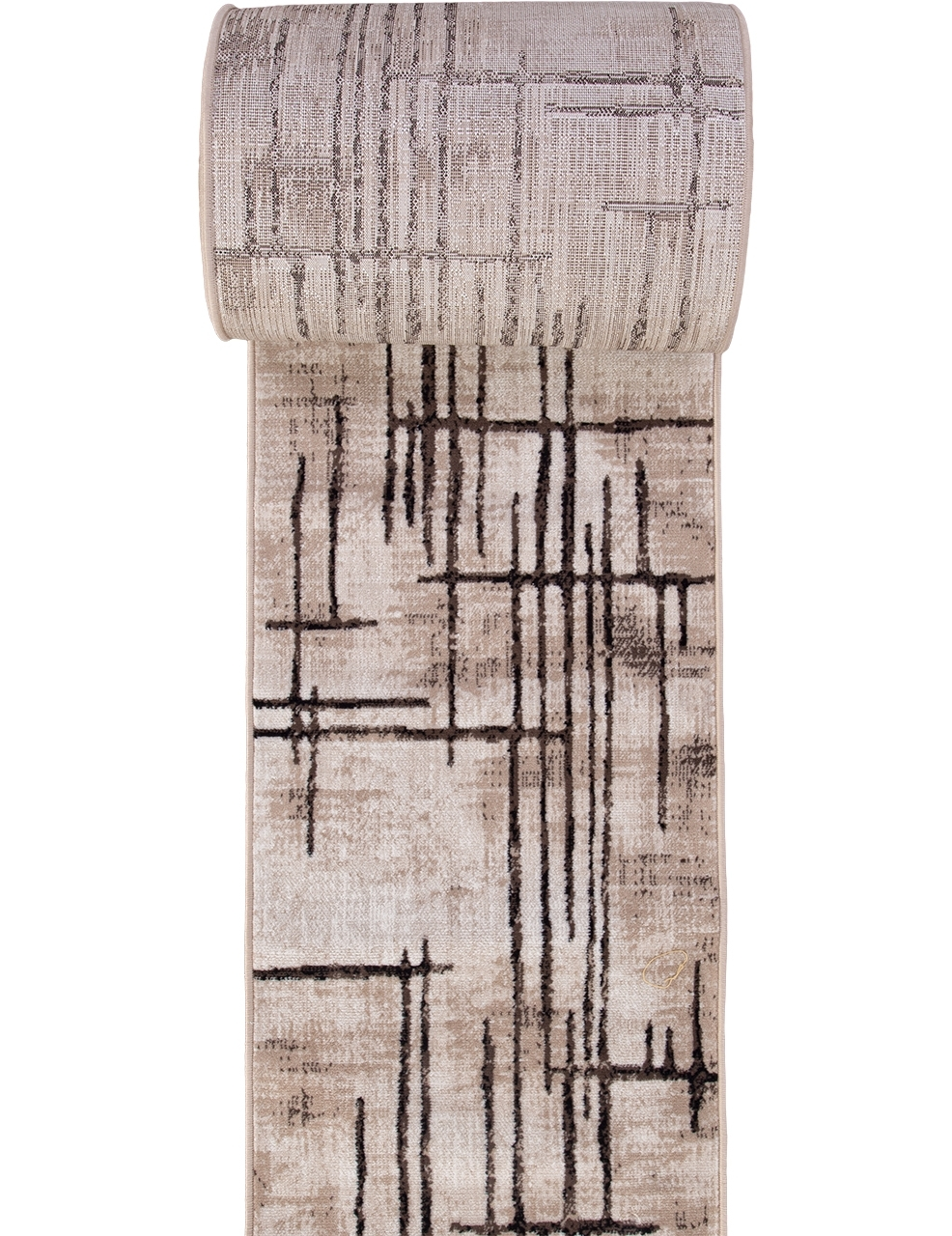 Ковровая дорожка D717 - BEIGE-BROWN - коллекция SIERRA - фото 2