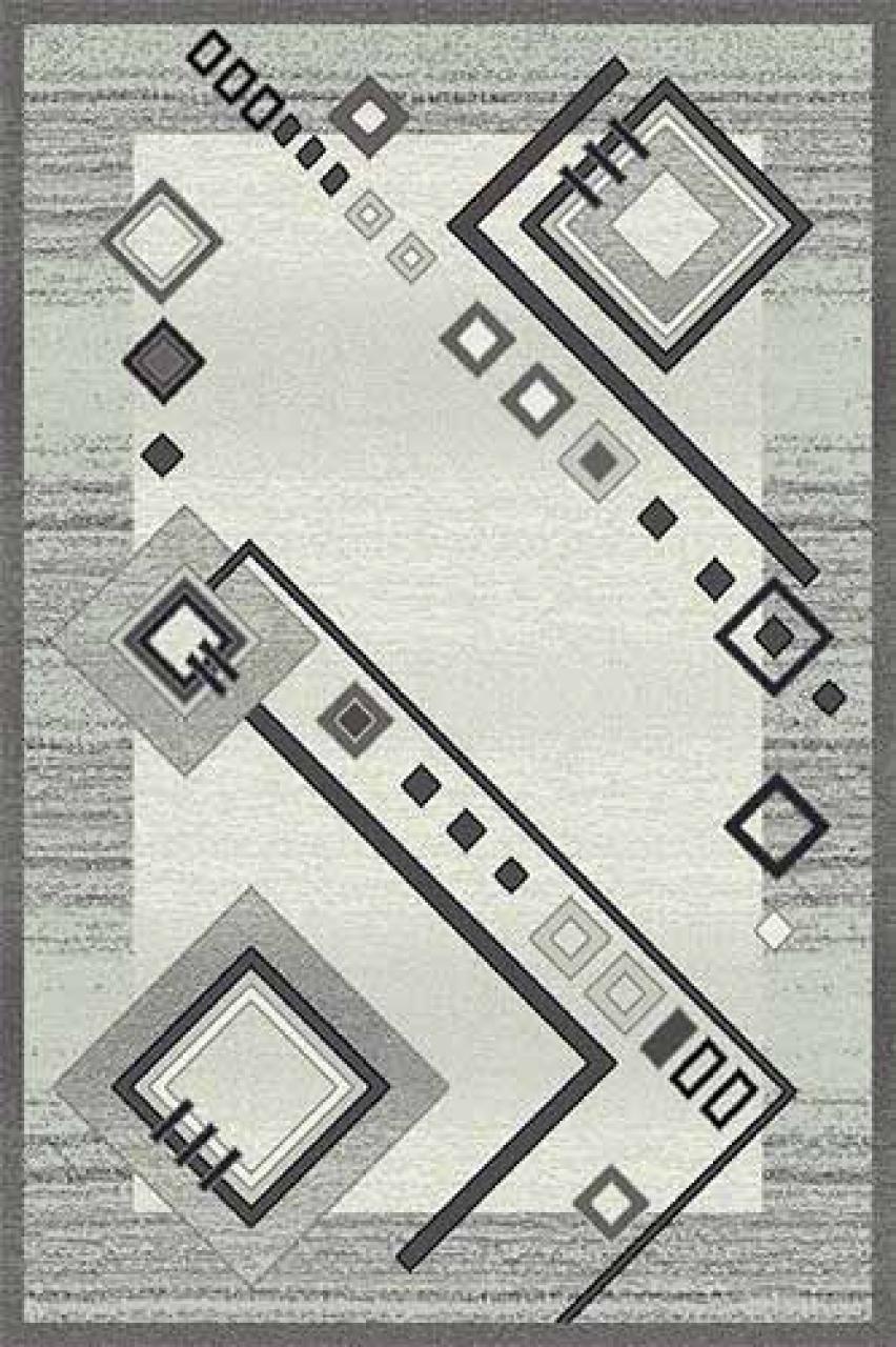 Ковер d188 - GRAY 2 - Прямоугольник - коллекция SILVER - фото 1