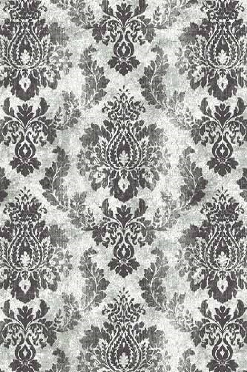 Ковер d225 - GRAY - Прямоугольник - коллекция SILVER