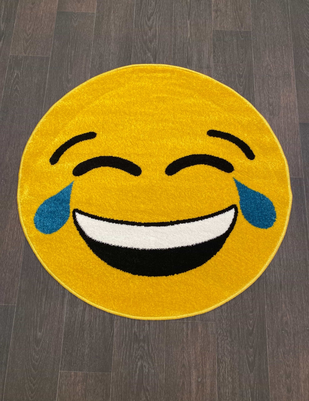 Ковер NC12 - YELLOW - Круг - коллекция SMILE - фото 1