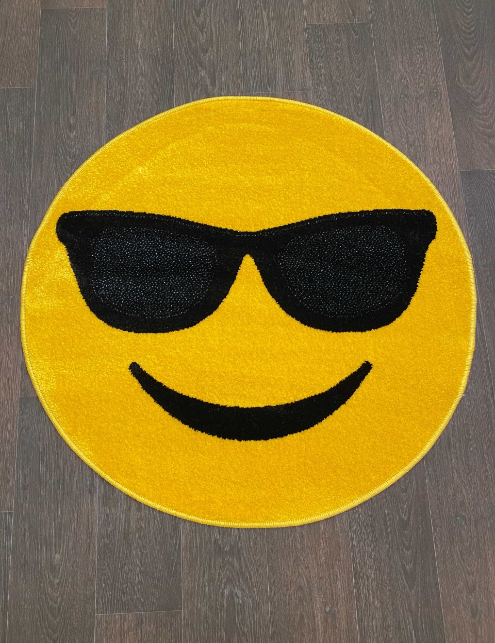 Ковер NC15 - YELLOW - Круг - коллекция SMILE - фото 1