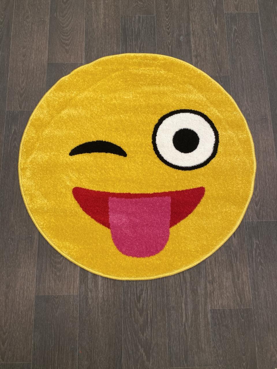 Ковер NC17 - YELLOW - Круг - коллекция SMILE - фото 1