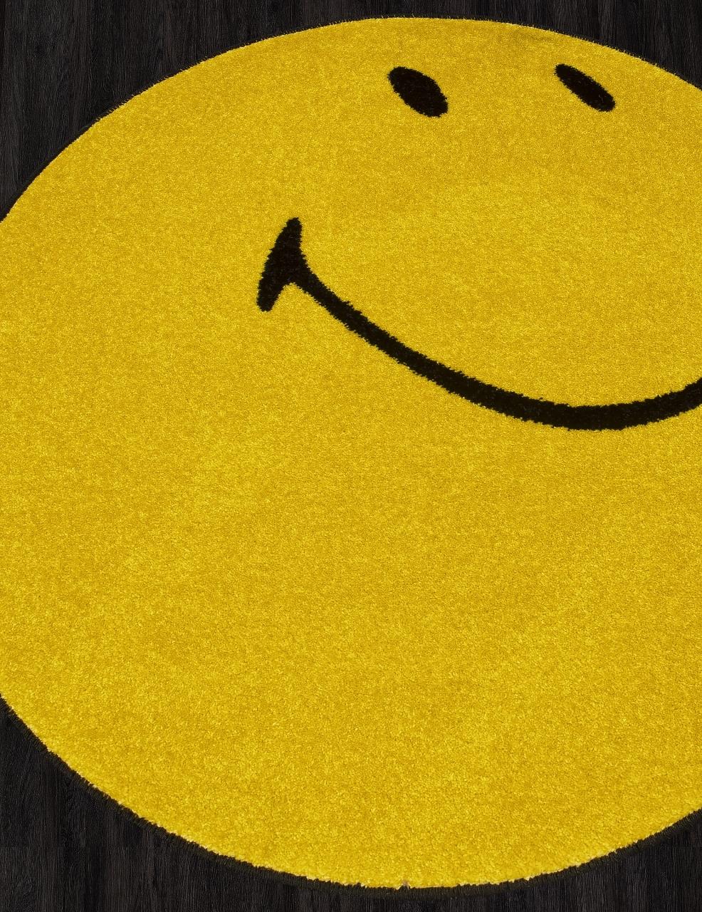 Ковер NC21 - YELLOW - Круг - коллекция SMILE