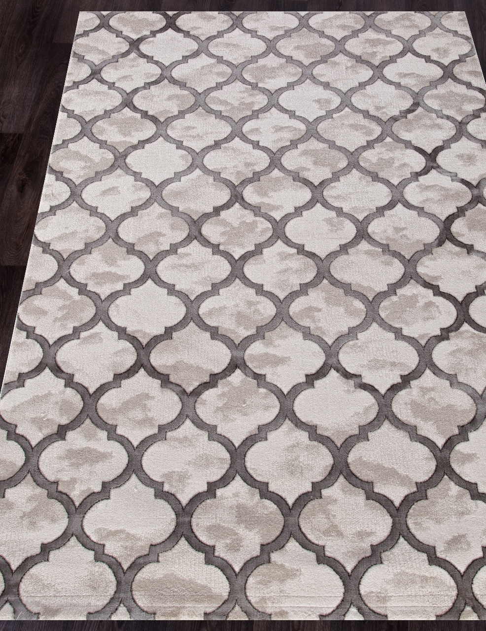 Ковер P0066 - L.GRAY / L.GRAY - Прямоугольник - коллекция STAR
