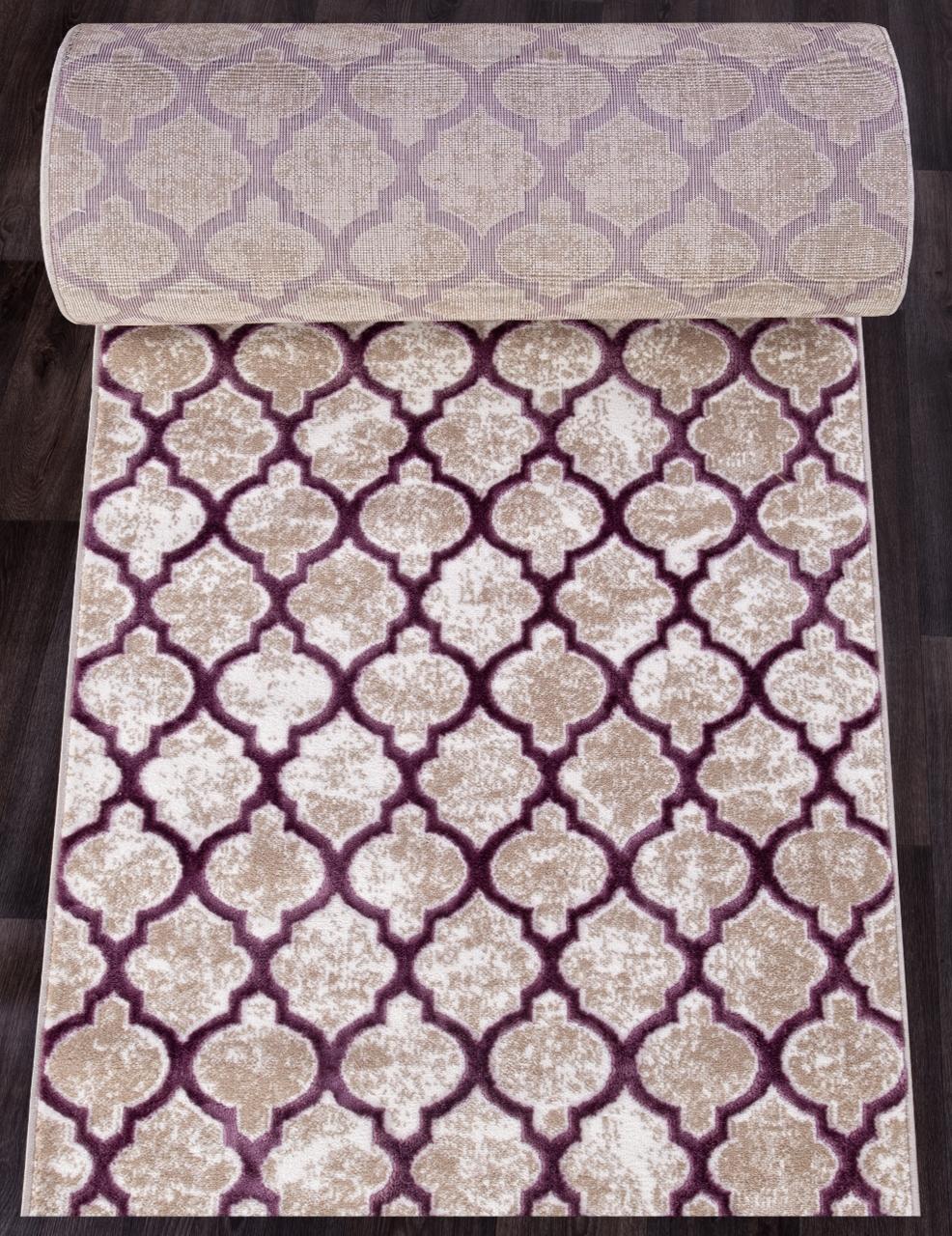 Ковровая дорожка D5180 - 051 PURPLE - коллекция STYLE - фото 1