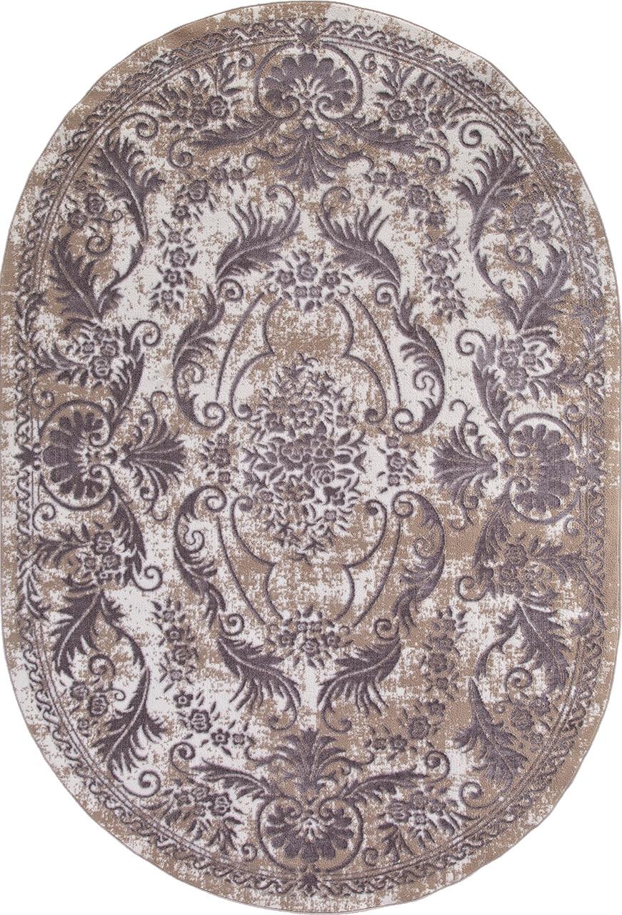 Ковер Q8738 - 097 GREY - Овал - коллекция STYLE - фото 2