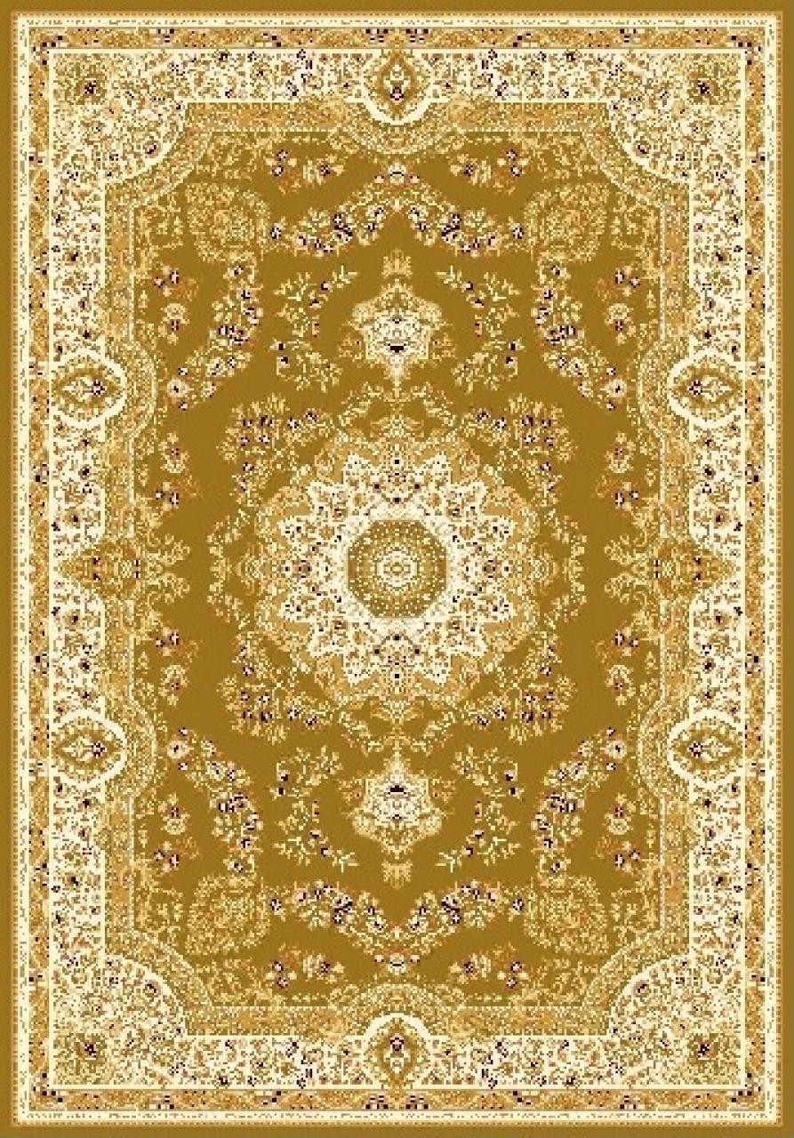 Ковер 6315 - GREEN - Прямоугольник - коллекция TEGERAN