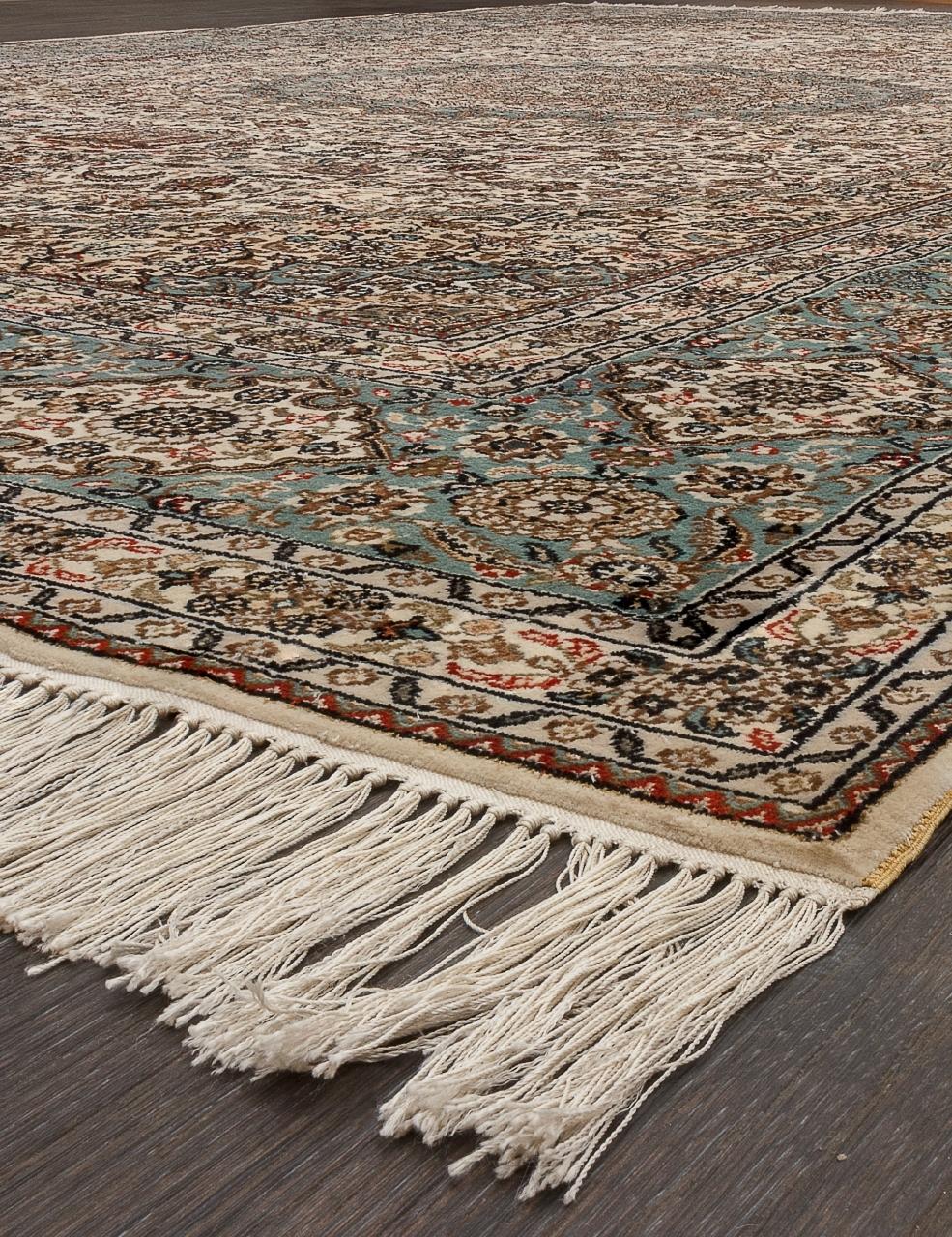 Ковер S-08 - CREAM / BLUE - Прямоугольник - коллекция Tibet SILK & SILK - фото 3