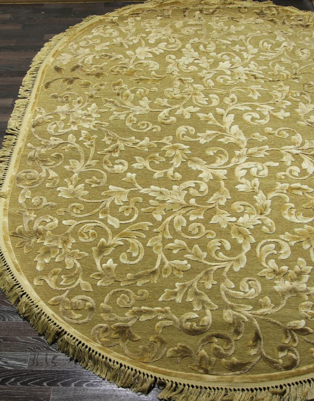 Ковер 0VC018 - GOLD - Овал - коллекция TIFFANY - фото 1