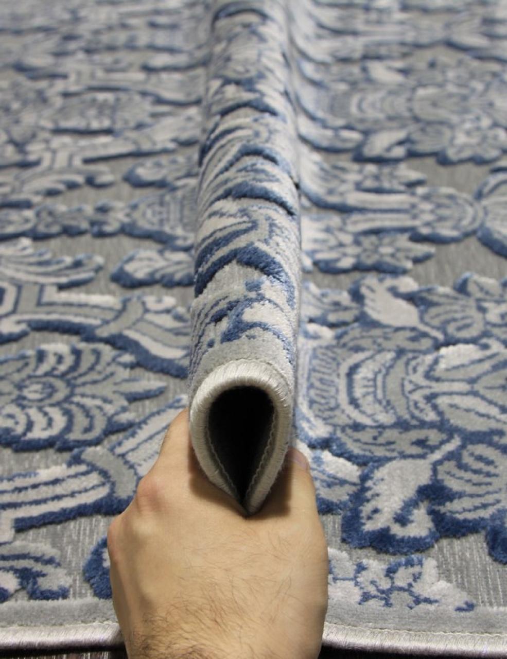 Ковер 0VC996 - SKY BLUE - Прямоугольник - коллекция TIFFANY - фото 2