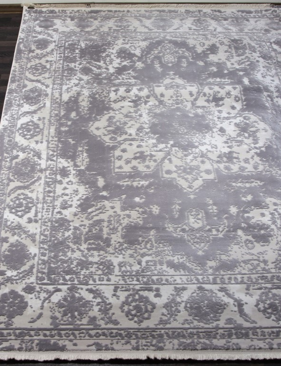 Ковер 08311G - GREY / GREY - Прямоугольник - коллекция TRUVA