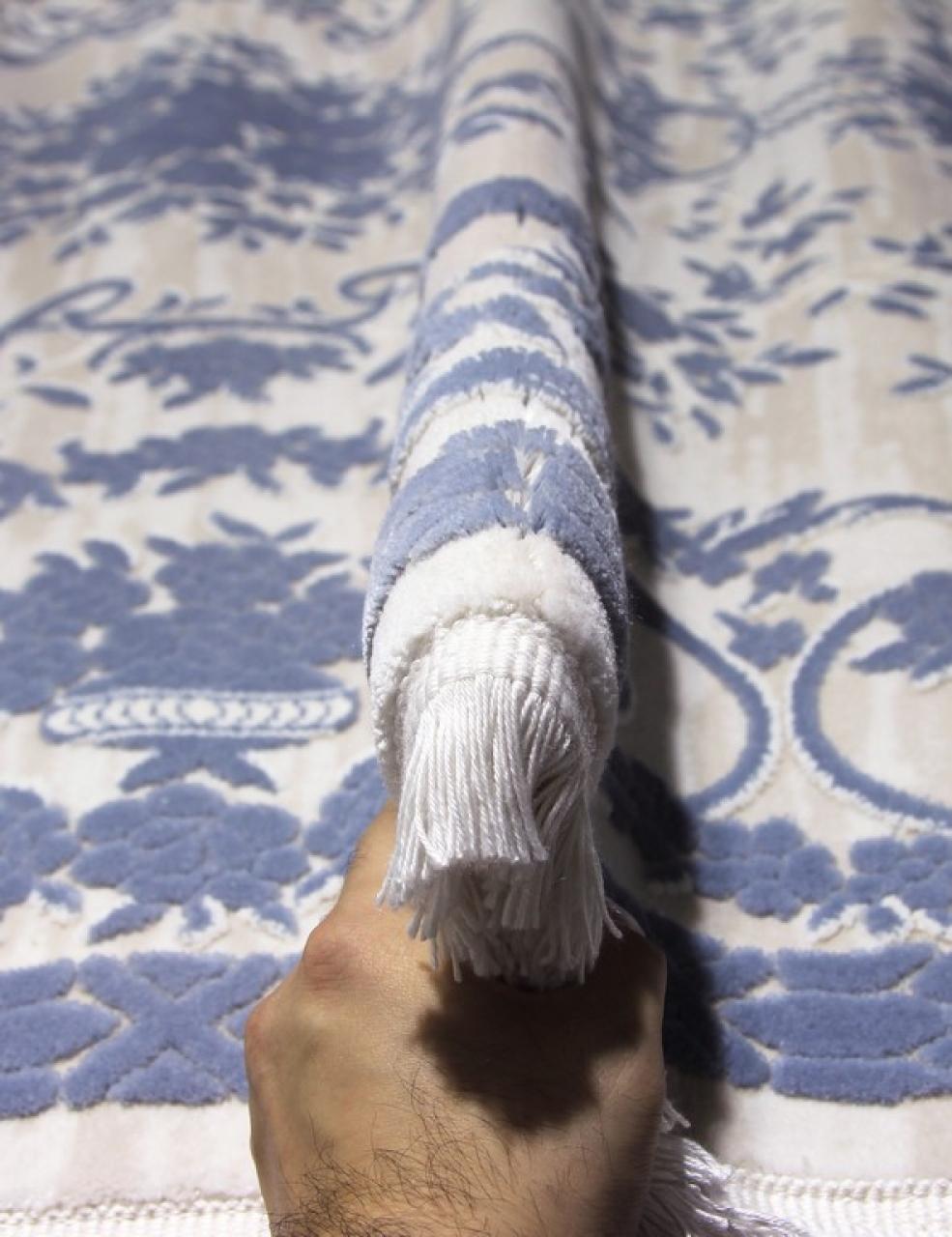 Ковер 08330T - BLUE / BLUE - Овал - коллекция TRUVA - фото 2