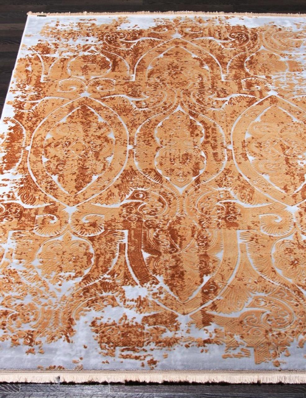 Ковер 08401C - ORANGE / ORANGE - Прямоугольник - коллекция TRUVA - фото 1