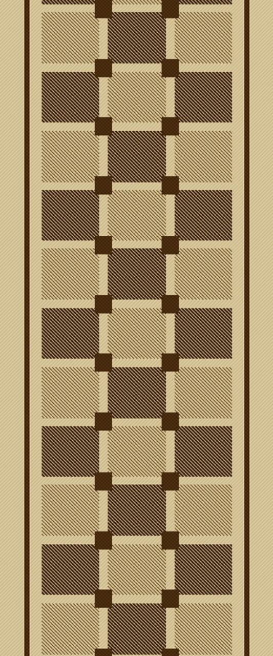 Ковровая дорожка sz2654a2r - 11 - коллекция Циновка - фото 1