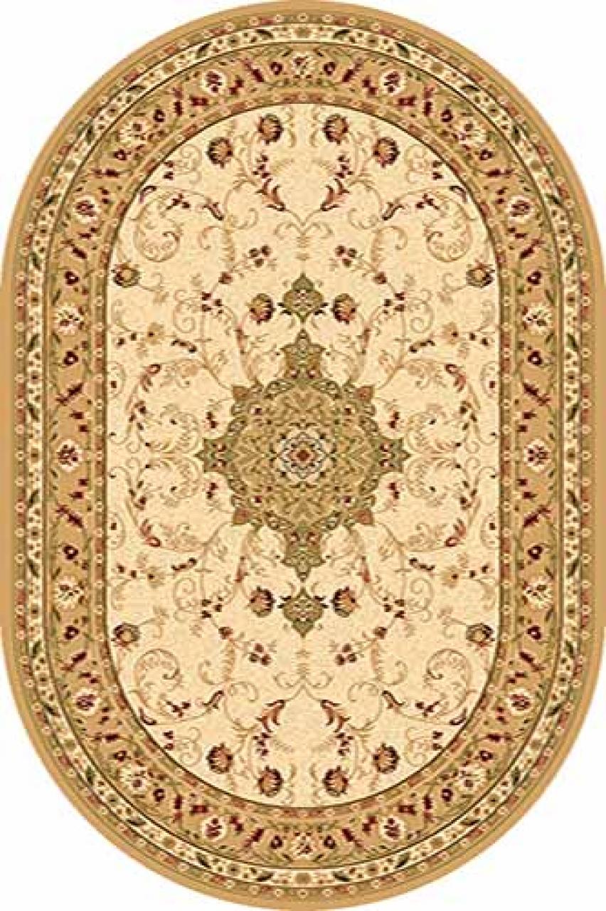 Ковер d115 - CREAM - Овал - коллекция VALENCIA - фото 1