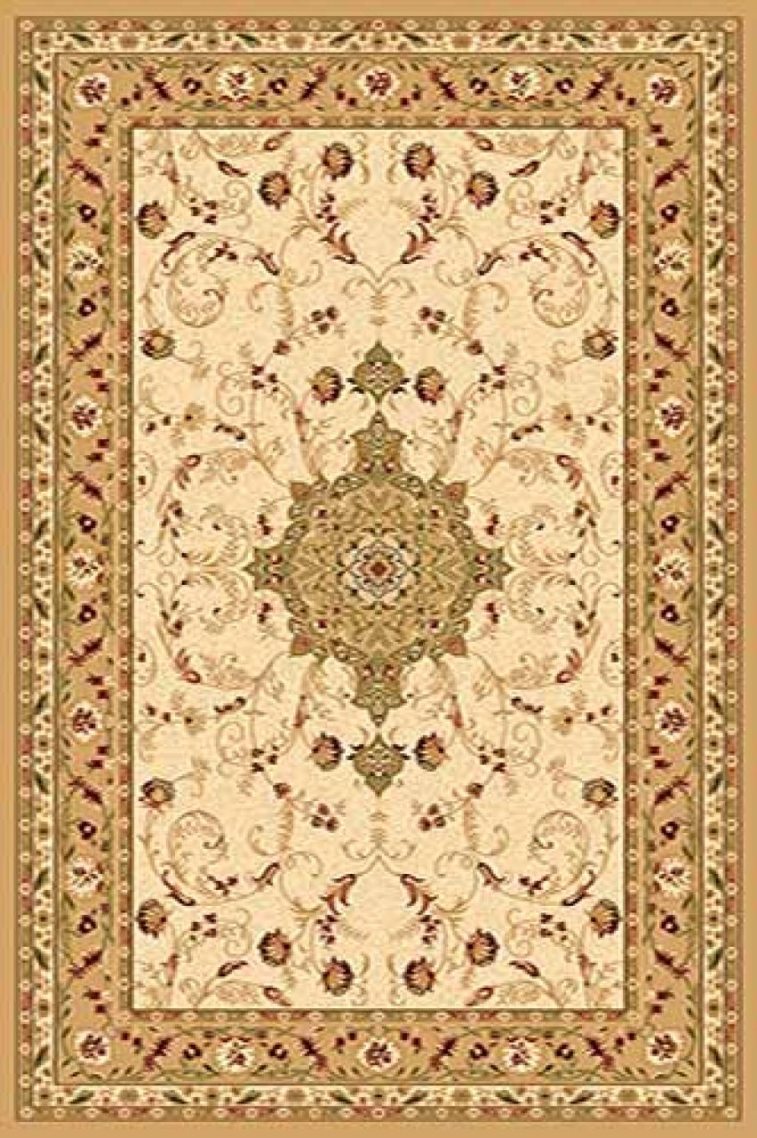 Ковер d115 - CREAM - Прямоугольник - коллекция VALENCIA