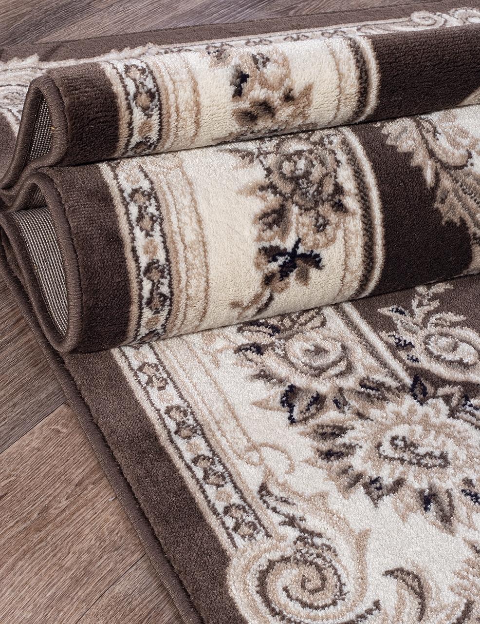 Ковер 4015 - BROWN - Прямоугольник - коллекция VALENCIA DELUXE - фото 3