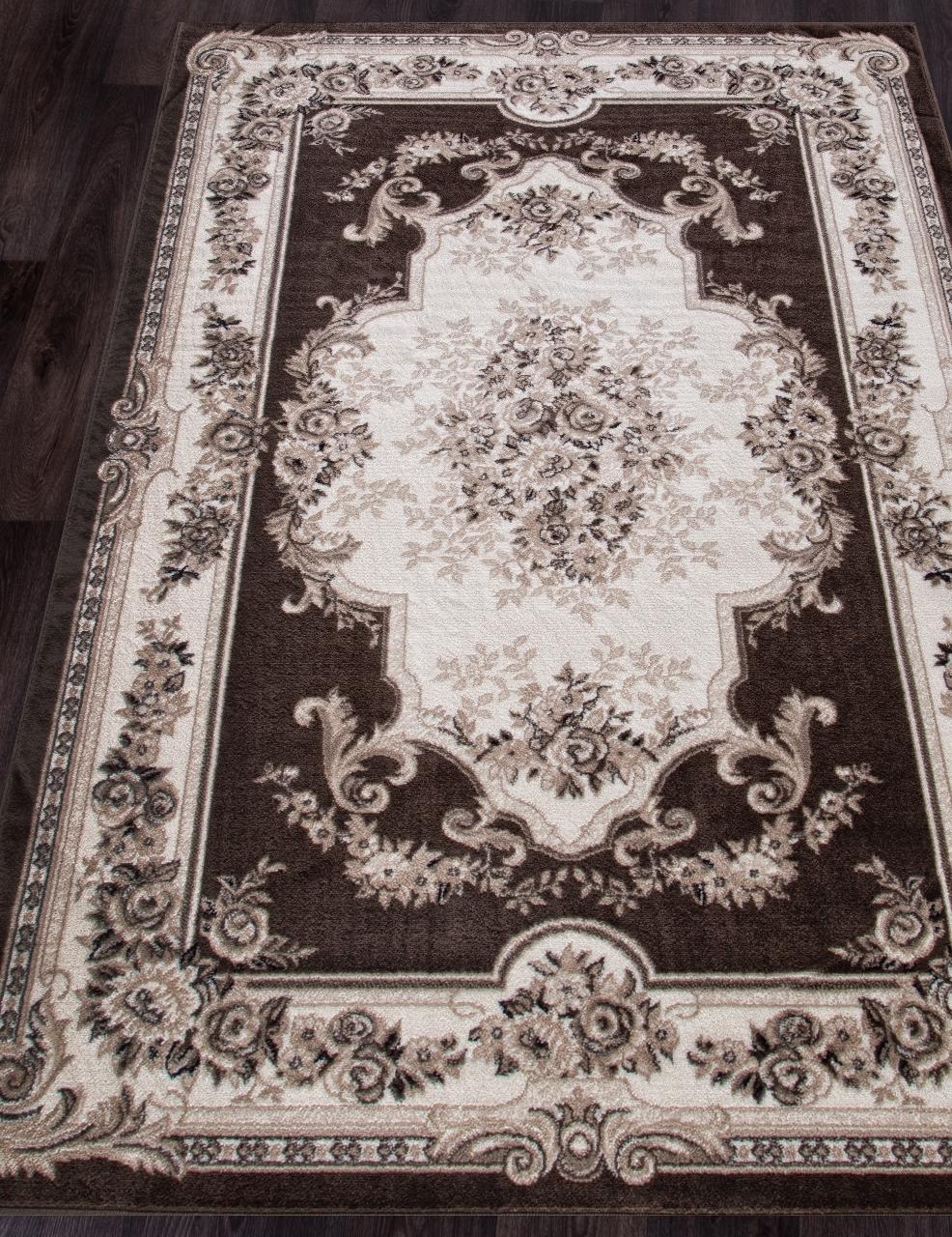 Ковер 4015 - BROWN - Прямоугольник - коллекция VALENCIA DELUXE - фото 1
