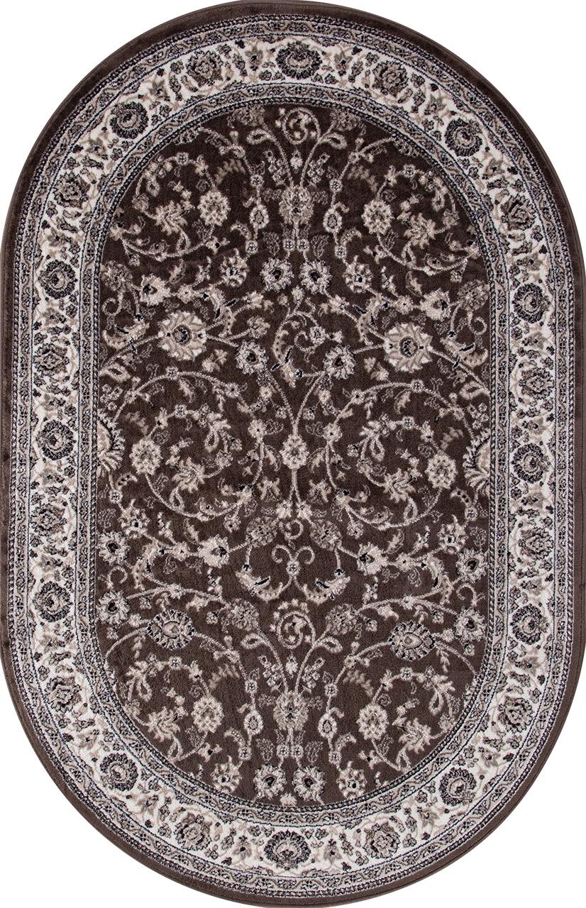 Ковер d251 - BROWN - Овал - коллекция VALENCIA DELUXE - фото 2