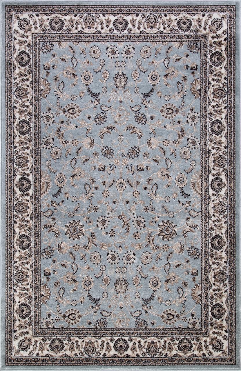 Ковер d251 - L.BLUE-BROWN - Прямоугольник - коллекция VALENCIA DELUXE - фото 2