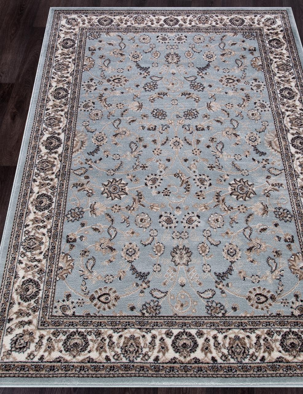 Ковер d251 - L.BLUE-BROWN - Прямоугольник - коллекция VALENCIA DELUXE - фото 1