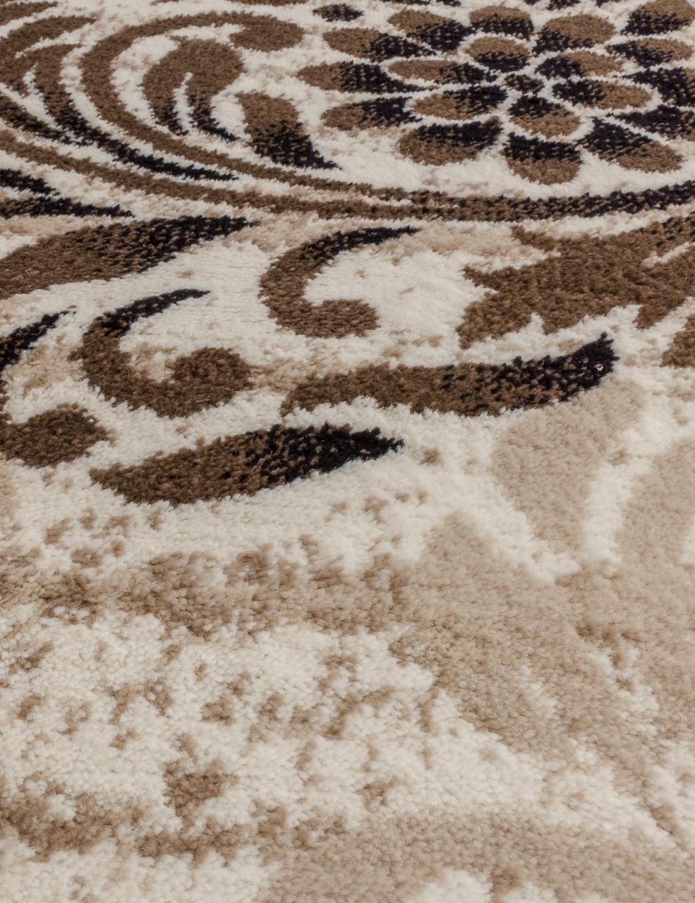Ковер d303 - CREAM-BROWN - Овал - коллекция VALENCIA DELUXE - фото 2