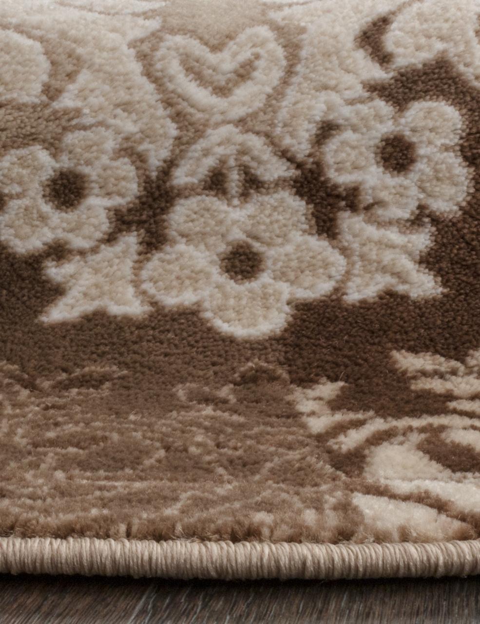 Ковер d331 - BROWN - Овал - коллекция VALENCIA DELUXE - фото 3