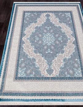 Ковер 0T249RG - BLUE / BLUE - Прямоугольник - коллекция ALFANI