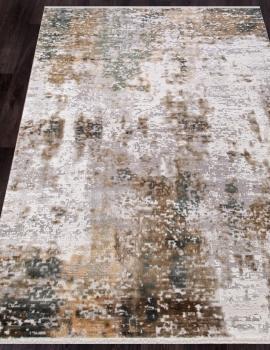 Ковер 12104 - CREAM / GREEN - Прямоугольник - коллекция ALLURES