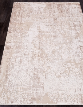 Ковер 12216 - CREAM / CREAM - Прямоугольник - коллекция ALLURES