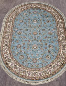 Ковер 5471 - BLUE - Овал - коллекция ARAVIA