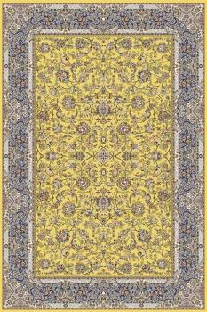 Ковер 6814 - YELLOW - Прямоугольник - коллекция ARAVIA