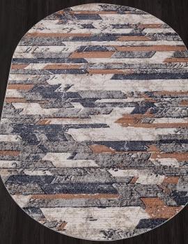 Ковер D749 - BEIGE - Овал - коллекция BOSTON