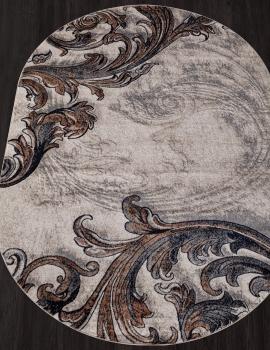 Ковер D754 - BEIGE - Овал - коллекция BOSTON