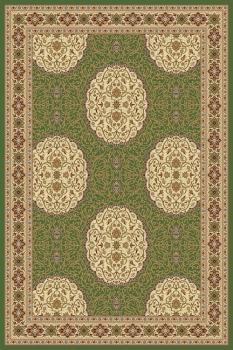 Ковер 1902 - GREEN 8 - Прямоугольник - коллекция BUHARA