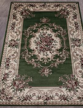 Ковер D057 - GREEN - Прямоугольник - коллекция COLIZEY