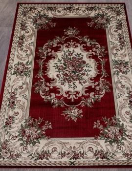 Ковер D057 - RED - Прямоугольник - коллекция COLIZEY
