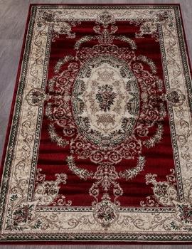 Ковер D058 - RED - Прямоугольник - коллекция COLIZEY