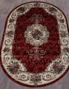 Ковер D467 - RED - Овал - коллекция COLIZEY