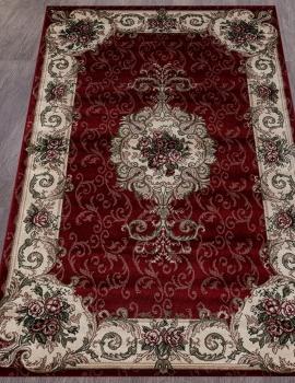 Ковер D467 - RED - Прямоугольник - коллекция COLIZEY