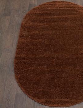 Ковер s600 - BROWN - Овал - коллекция COMFORT SHAGGY 2