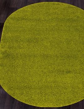 Ковер s600 - GREEN - Овал - коллекция COMFORT SHAGGY 2