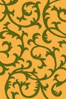 Ковер s627 - ORANGE-GREEN - Прямоугольник - коллекция COMFORT SHAGGY 2