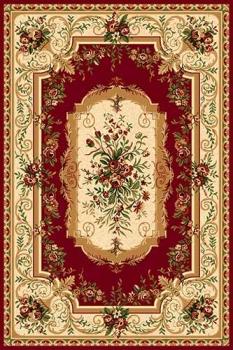Ковер 5245 - RED - Прямоугольник - коллекция DA VINCI