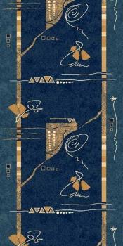 Ковровая дорожка 5305 - NAVY - коллекция DA VINCI