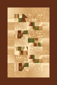 Ковер d143 - BROWN - Прямоугольник - коллекция DA VINCI