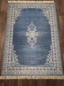 Ковер 11001.104 AGAH - Темно-синий - Прямоугольник - коллекция Decovilla